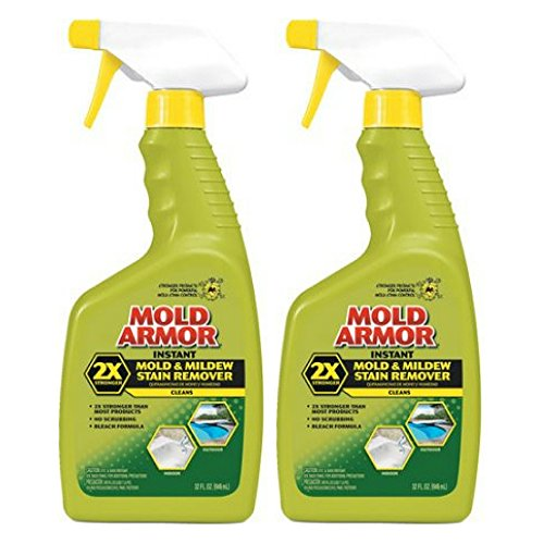Blocker Mold - Home Armor; Mold Armor Instant Mold & Mildew Stain Remover, 32 oz - Pack of 2