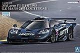 Qingdao cultural materials 1 / 24 supercar series No.15 McLaren F1 GTR 1998 Le Mans 24-hour Loctite plastic model