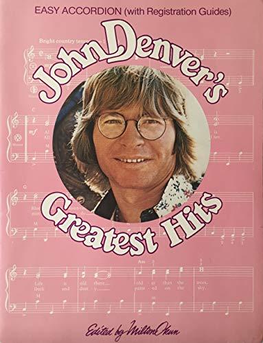 John Denver's Greatest Hits Easy Accordion