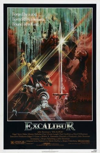 Excalibur Movie Poster 11x17 Master Print