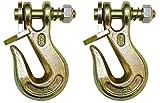 BA Products G8-200-58, Set of 2, 5/8'' Grade 80 Twist Lock Grab Hook