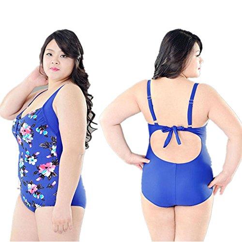 SHISHANG Las mujeres bikini traje de baño de cuerpo Europa y el complejo de aguas termales traje de baño de alta elasticidad de Protección Ambiental de Estados Unidos 2