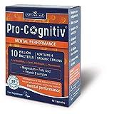 Natures Aid Pro-Cognitiv, Magnesium, Folic Acid & Vitamin B Complex 60 Vcaps 4PK