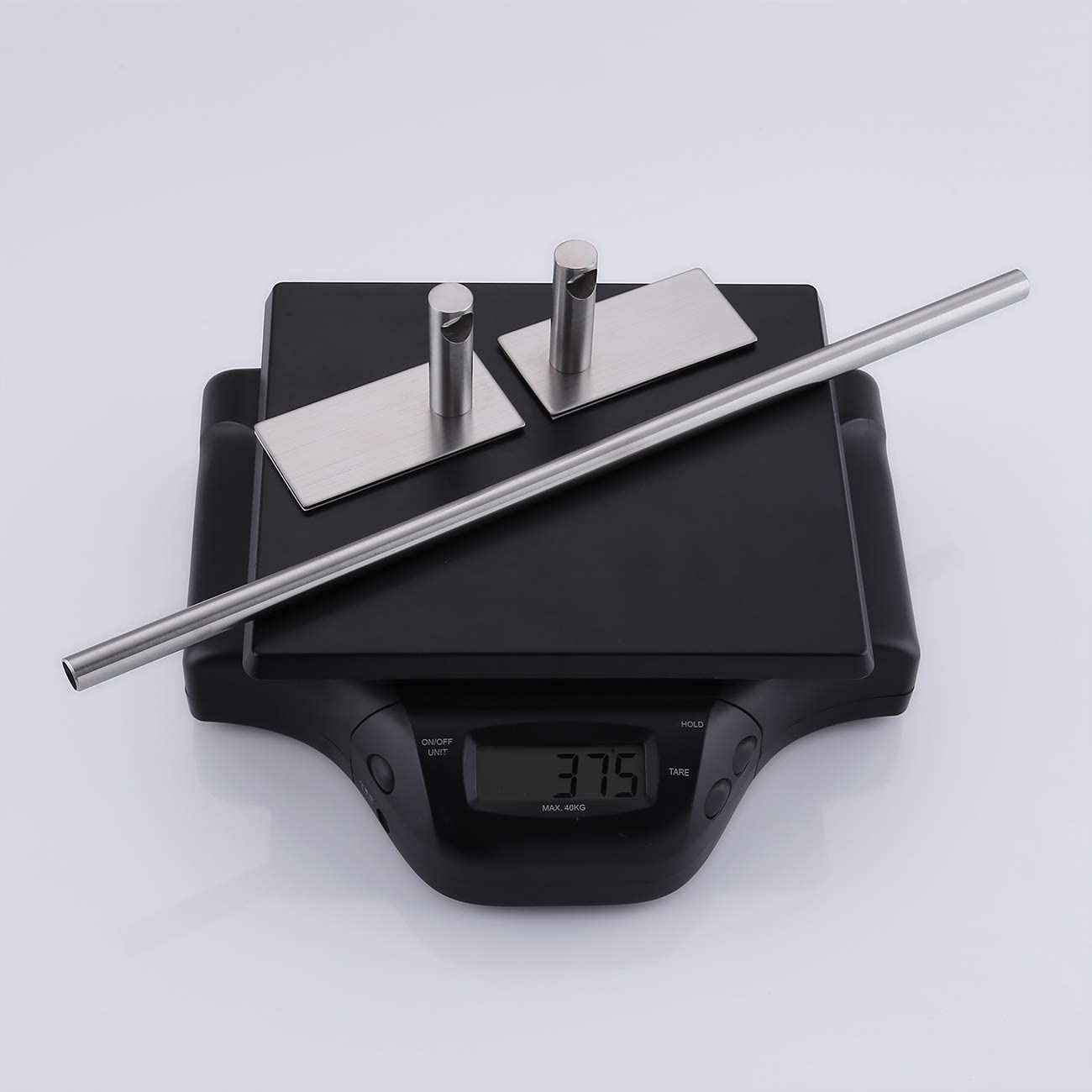 KES Toallero de barra Hand Ba/ño Metal 40 cm A7000S40-2 Acero inoxidable