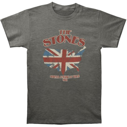Rolling Stones North America Tour 81 Soft Adult T-shirt