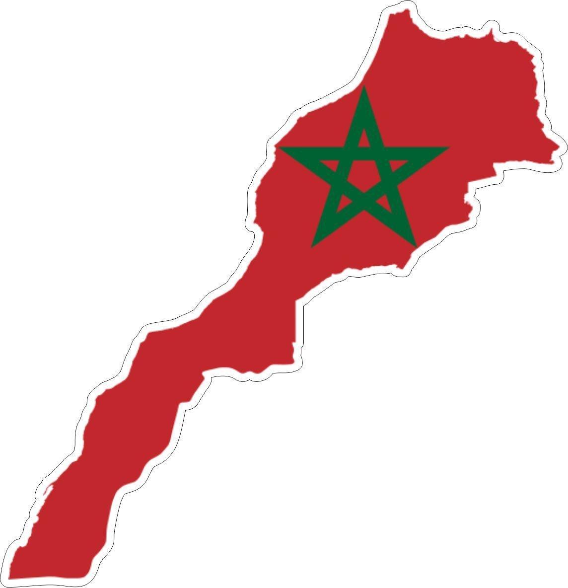 Autocollant blason adhesif drapeau armoiries voiture sticker maroc