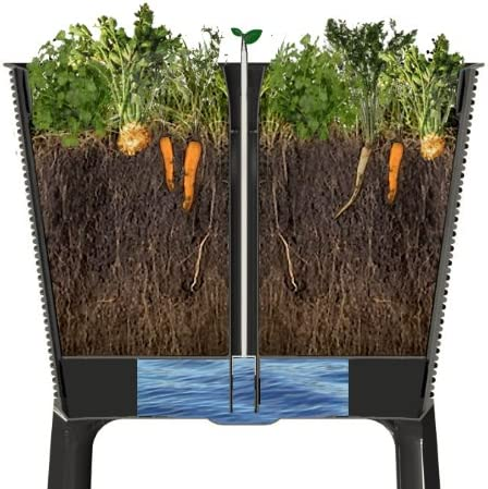if your vegetables do not grow well in shade, try opting for a raised garden bed that you can put anywhere, such as this one.