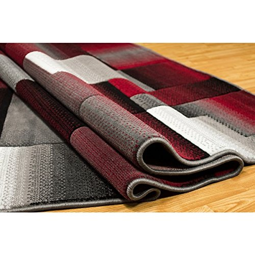 Lyke Home Machine-made Olefin Lava Area Rug (8' x 10') by Generic