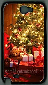 Pink Ladoo? Diy For HTC One M7 Case Cover hard Christmas Tree with Presents theme protective back by cutomizedonline