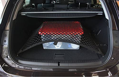 Worth Mats Custom Fit High Elastic Floor Style Rear Trunk Storage Luggage Net For Mercedes G Class G350 G500 G55 G63 G65