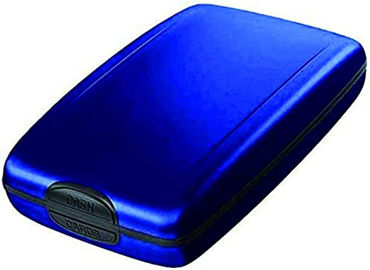 - LUO82WAN1dn4 azul Azul Monedero seguro para pagos y pagos rheinwing RFID