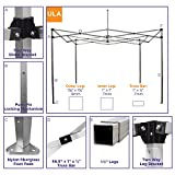 Impact Canopy 040030003-VC 10 x 10 Pop Instant Tent Frame Canopy Accessories Included, Royal Blue