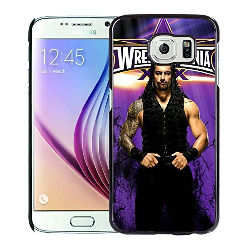 Newest and Fashionable Case WWE roman reigns Black Phone Case for Samsung Galaxy S6 (Wwe Display Case compare prices)