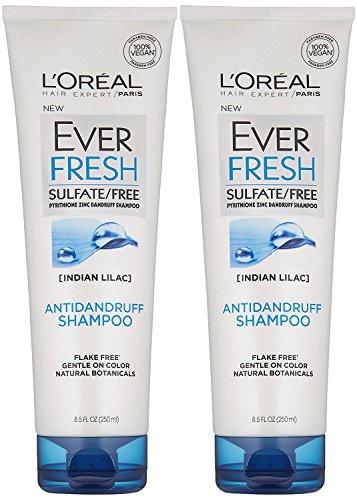 LOreal Paris EverFresh Antidandruff Shampoo Sulfate Free, 8.5 Fluid Ounce (Pack of 2)