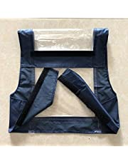 MOBILITY SCOOTER CONTROL PANEL COVER Tiller cover waterproof dust free cover navy color for Delta Handled Models Large Size - (Colour: Blue Color)