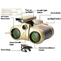 Generic Night Scope Binocular with Pop-Up Light