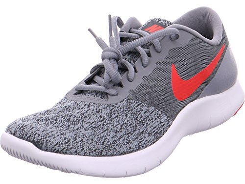 Nike Mens Flex Contact Cool Grey RED Anthracite Size 14