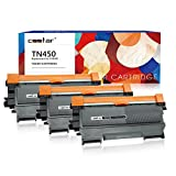 brother toner mfc 7360n - CSSTAR Compatible Toner Cartridge Replacement for Brother TN450 TN420 Use in MFC-7360N MFC-7460DN MFC-7860DW HL-2240 HL-2270DW HL-2280DW HLl-2240D DCP-7065dn Intellifax 2840 Printer - Black, 3 Pack