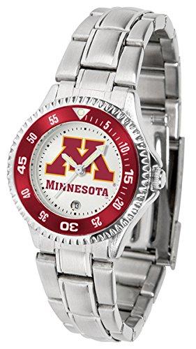 Minnesota Golden Gophers Competitor Steel Women's Watch