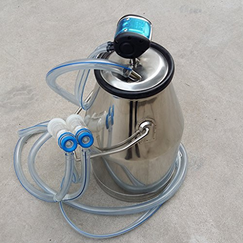 Wotefusi goat milker Argricultural Portable Stainless Ste...