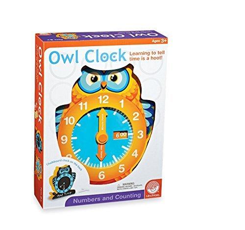 Mindware Owl Clock by MindWare