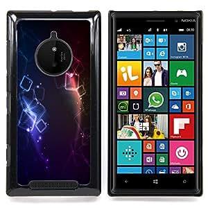 """A-type Arte & diseño plástico duro Fundas Cover Cubre Hard Case Cover para Nokia Lumia 830 (Resumen 10"""")"""