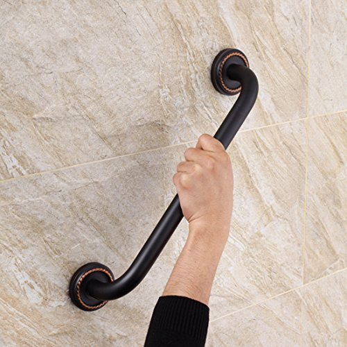 FLG Bathroom Shower Bath Grab Bar, Oil Rubbed - Accessories Bronze Old Bath
