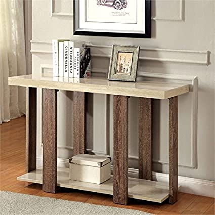 Fantastic Amazon Com Furniture Of America Haven Console Table In Gmtry Best Dining Table And Chair Ideas Images Gmtryco