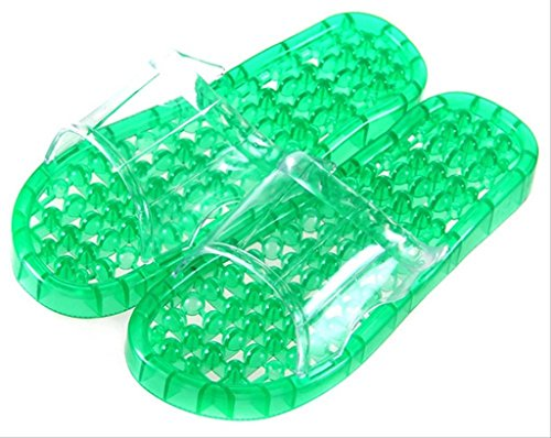 Non WZY Green Di Massage amp;JYM Spa Foam Household Bathroom Slip Shower Unisex Slipper Sandal Beach rqXrCw4