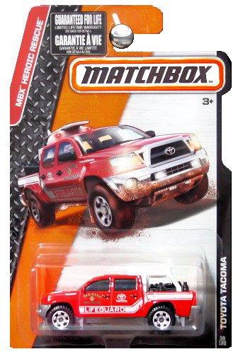 Amazon com: MATCHBOX 2015 RELEASE RED TOYOTA TACOMA SAN