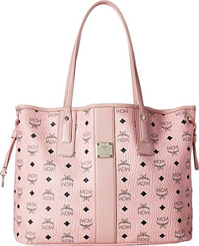 MCM Women's Liz Shopper Tote, Soft Pink, One Size by MCM