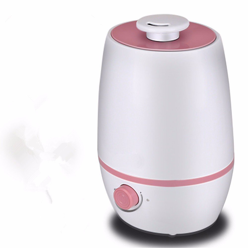 DIDIDD Humidifier lights home bedroom mute large capacity air purification office woman mini air aromatherapy machine,Pink