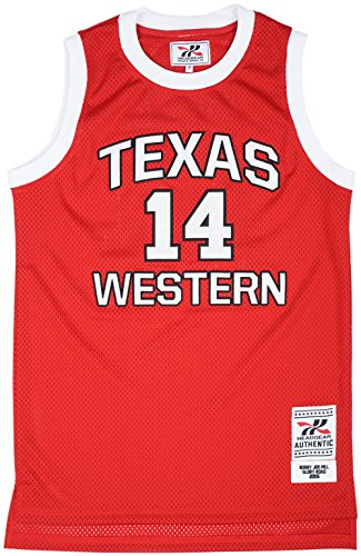 Headgear Glory Road Texas Western Men's Basketball Jersey...