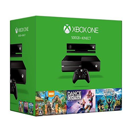 XboxOne本体 + Kinect ブラックの商品画像