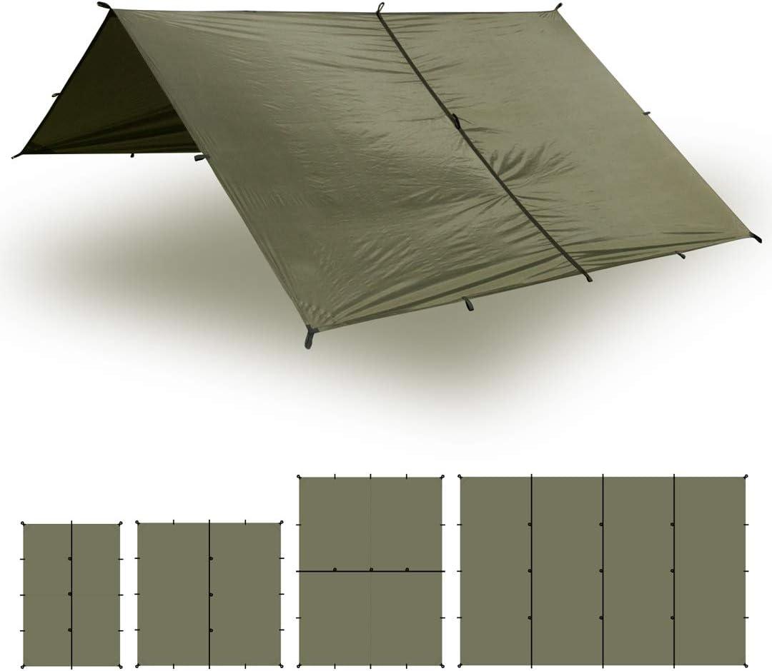 Toldo tipo tienda para camping de nylon de silicona Impermeable Vers/átil y Duradero Aqua Quest SAFARI Toldo Mediano 3 x 2 m Ligero Compacto
