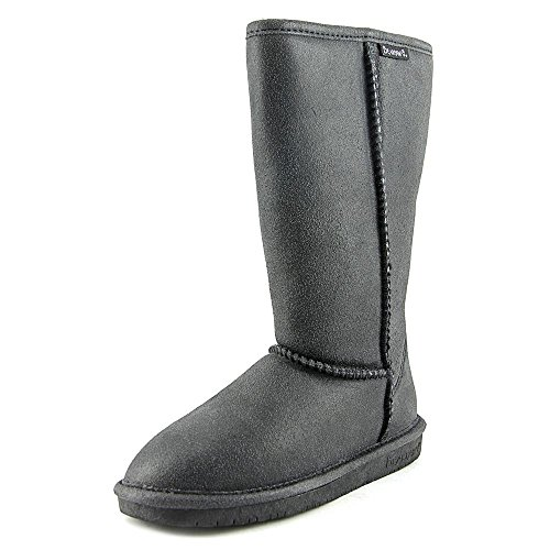 Black Fashion BEARPAW Emma Distressed Tall Women's Boot wqnC86F7