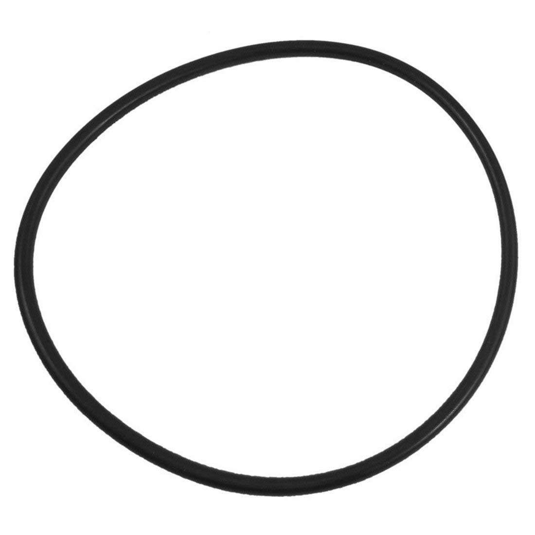 Yevison 130mm x 5mm Rubber O Ring Oil Filter Oil Seal Sealing Washers Black Durable and Useful by Yevison