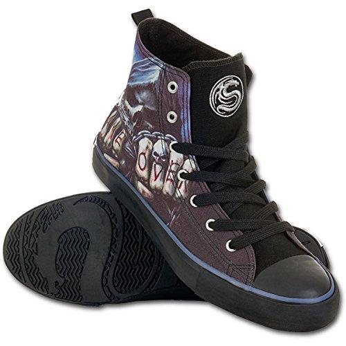 Spiraal Heren - Game Over - Sneakers - Heren Hoge Top Veter