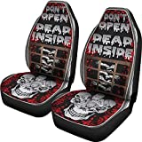 walking dead car seat covers - Muggalicious Don't Open Dead Inside Zombie Walking Dead Universal Seat Cover Set