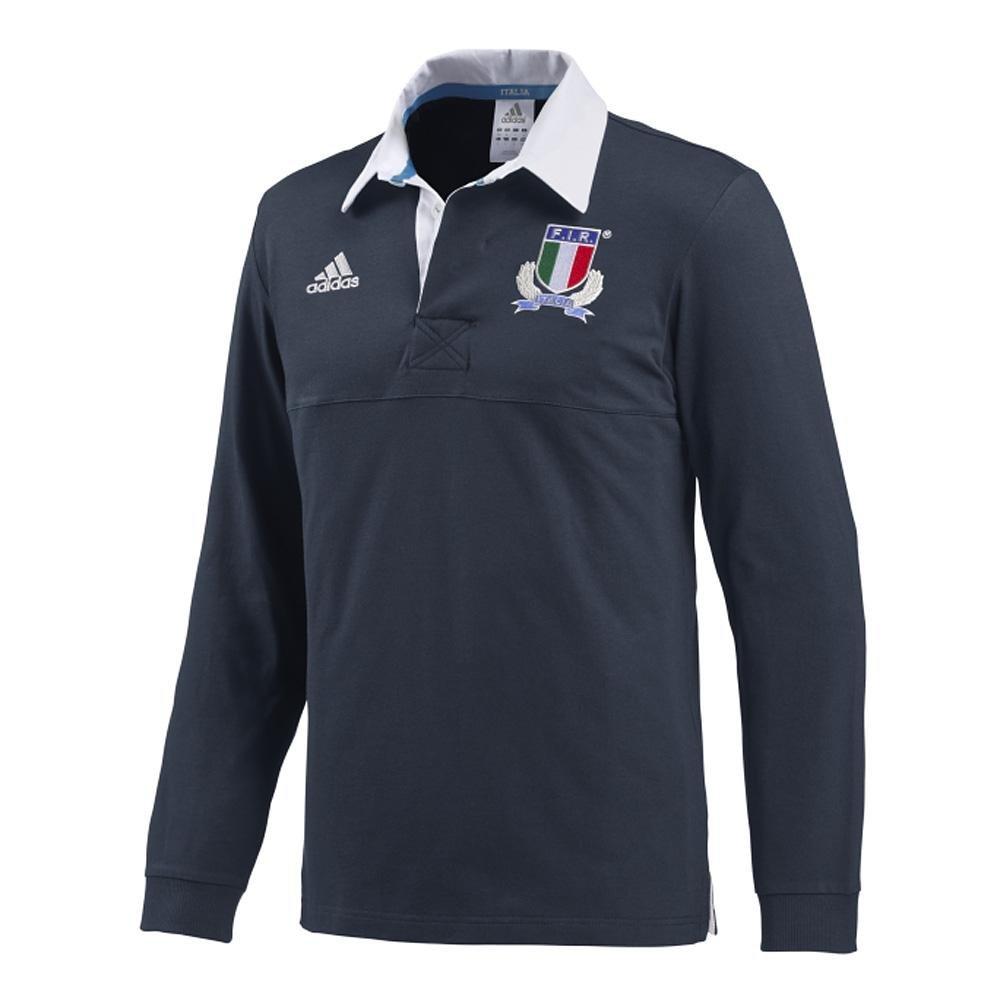 Adidas Polo Nacional Italiano Fir Manga Larga Azul Turquesa Talla ...