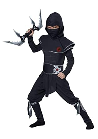 Amazon.com: Boys Ninja Warrior Costume: Clothing