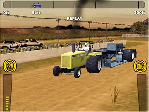 playstation 2 tractor pulling games