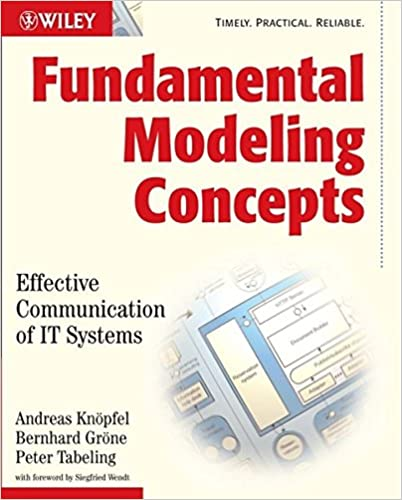 Book Fundamental Modeling Concepts: Effective Communication of IT Systems