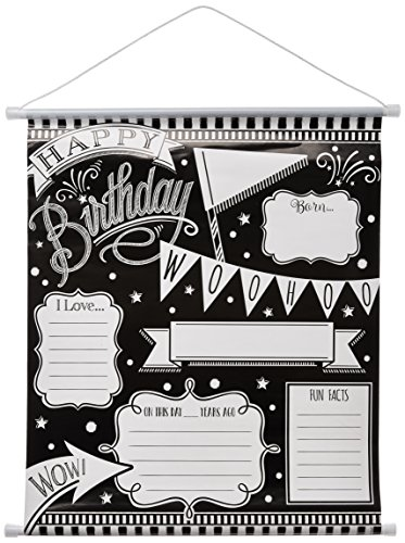 Milestone Sign | Black & White Collection | Birthday -