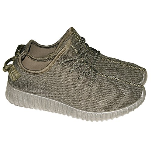 786 Lace High 6 Aaishaz L Warm Boots Trainers Winter UK Casual Ladies 66 New Ankle Khaki Up Fur Lined FAwqwdtxB