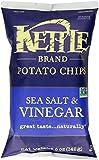#8: Kettle Brand Potato Chips, Sea Salt & Vinegar, 5-Ounce Bag