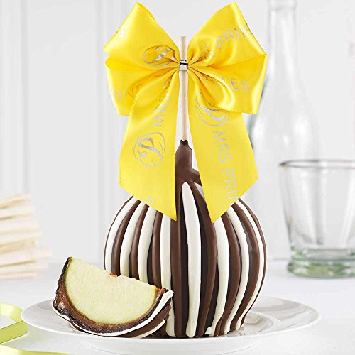 - Mrs Prindables Triple Chocolate Easter Jumbo Caramel Apple