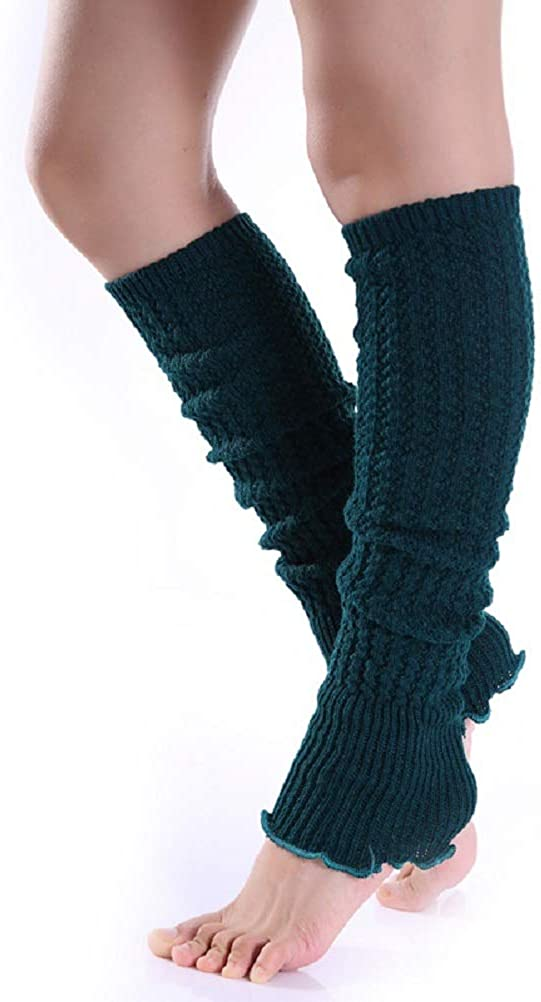 Women Girls Ankle Leg Warmers Boot Cuff Socks Bright Colors Knee Warmers
