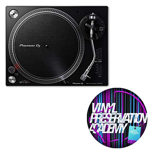 Pioneer DJ PLX-500-K Direct Drive DJ Turntable - Black with