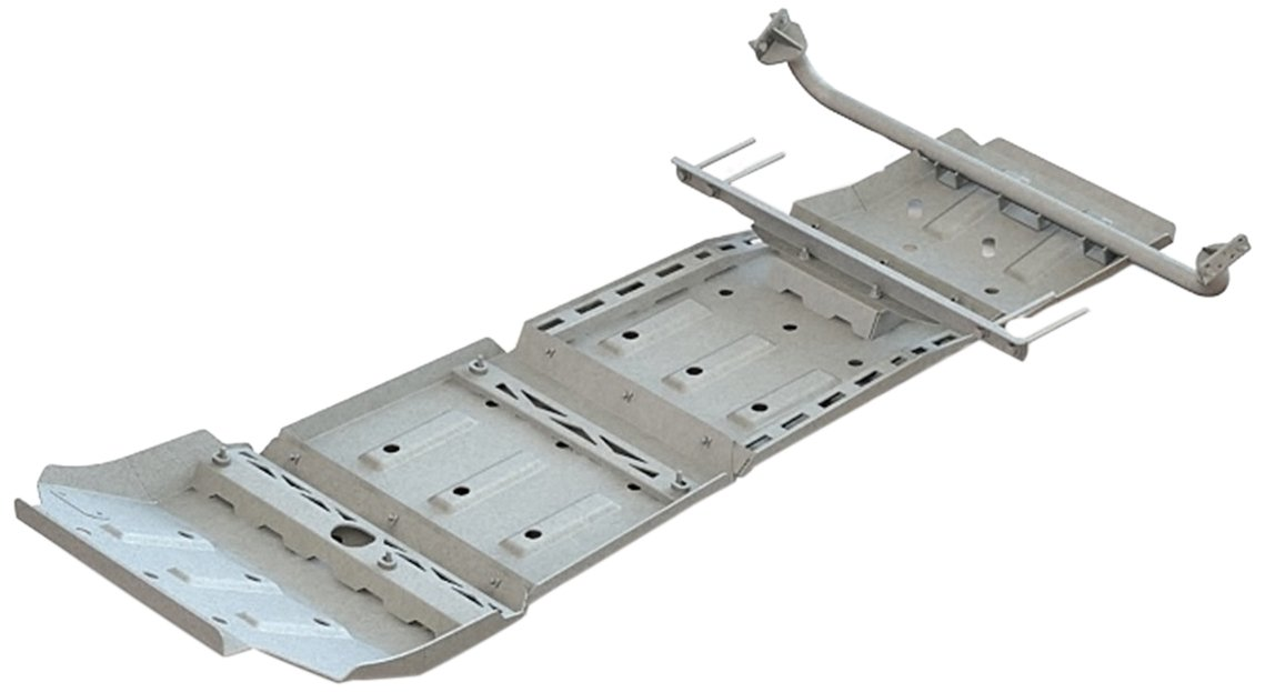 ARB 5423010 Under Vehicle Protection Kit Incl. Front Panel Diff Panel Transmission Panel Transfer Case Panel Under Vehicle Protection Kit